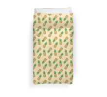 Creamy Pineapple Summer Pattern Duvet Cover