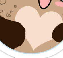 Pluto: My Heart is a Frozen Wasteland! Sticker