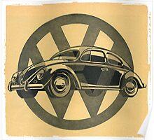 VW Bug Poster