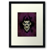 Ferocity Purple Framed Print