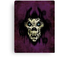 Ferocity Purple Canvas Print