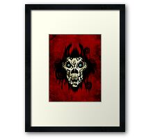 Ferocity Red Framed Print
