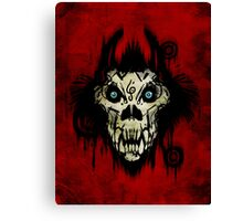 Ferocity Red Canvas Print