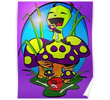 Gir and the Poison Mushroom Poster