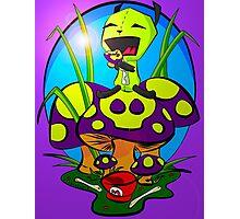 Gir and the Poison Mushroom Photographic Print