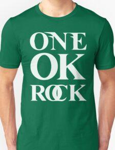 ONE OK ROCK (Alt Logo - White) Unisex T-Shirt