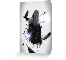 Final Fantasy VII - Sephiroth Greeting Card