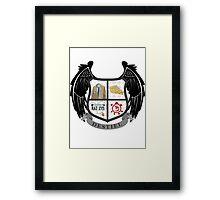 Destiel coat of arms Framed Print