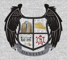 Destiel coat of arms by JudithzzYuko