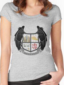 Destiel coat of arms Women's Fitted Scoop T-Shirt