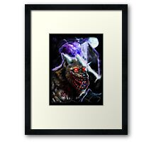Werewolf-Blood Night Framed Print