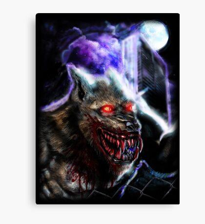 Werewolf-Blood Night Canvas Print