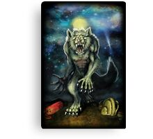 Werewolf-Moon Camp Canvas Print