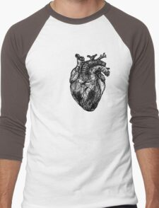 My Black Heart Men's Baseball ¾ T-Shirt