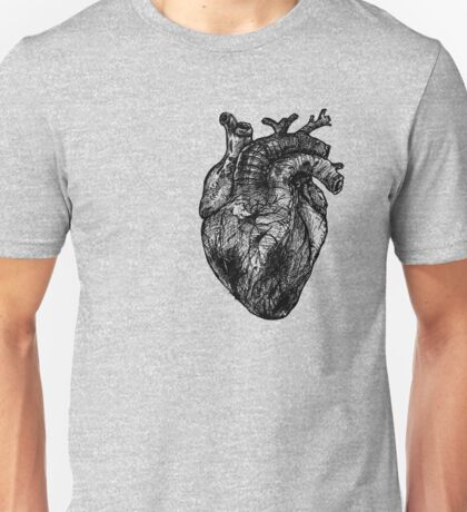 My Black Heart Unisex T-Shirt