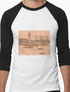 Beautiful Venice Men's Baseball ¾ T-Shirt