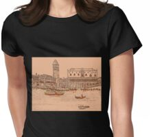Beautiful Venice Womens Fitted T-Shirt