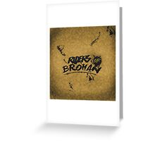 the RIDERS OF BROHAN | Poster/Card Greeting Card