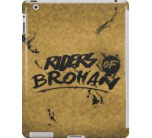 the RIDERS OF BROHAN | Poster/Card iPad Case/Skin