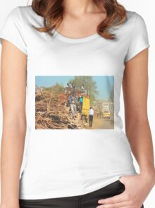 Transport Service in Nairobi, KENYA Women's Fitted Scoop T-Shirt
