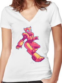 Pretty Bee Women's Fitted V-Neck T-Shirt