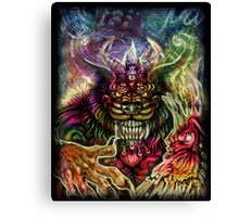 Animus-Beast Within Canvas Print