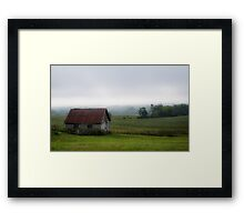 September Morning Framed Print