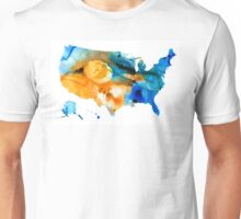 United States Map - America Map 9 - By Sharon Cummings Unisex T-Shirt