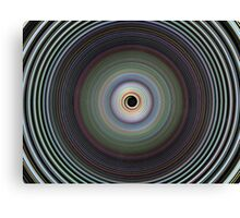 Colour Play Twirl Canvas Print