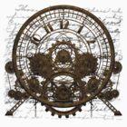 Vintage Steampunk Time Machine #1A by Steve Crompton