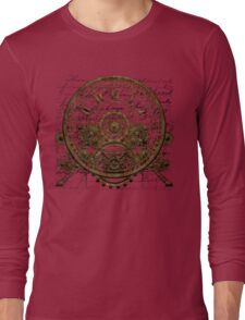 Vintage Steampunk Time Machine #1A Long Sleeve T-Shirt