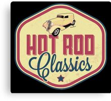 Hot Rod Classics Tee and More from VivaChas! Canvas Print