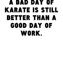 A Bad Day Of Karate by GiftIdea