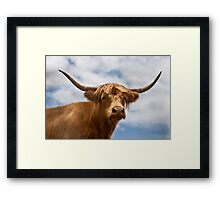 Highland Girl Framed Print