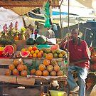 Fruits, Vegetables & Animals Bazar in Nairobi, KENYA by Atanas NASKO