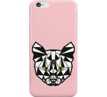 Crystal Cat - Pink iPhone Case/Skin