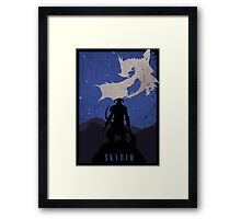Skyrim - Dovahkiin Framed Print