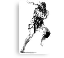MGS - Snake Logo Canvas Print