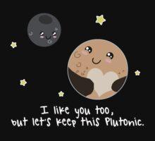 Pluto: Let's keep it Plutonic. Kids Clothes