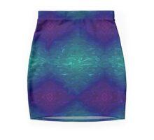 Liquid Marble Mini Skirt