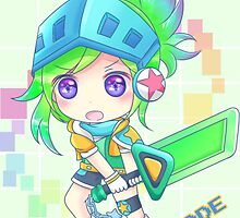 League of Legends Arcade Riven HQ by Dhaxina