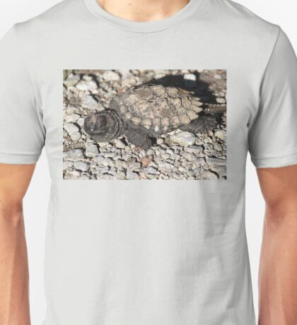 Baby snapping turtle Unisex T-Shirt