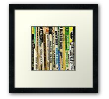 the silent language Framed Print