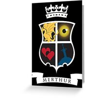 Merthur Coat of Arms Greeting Card