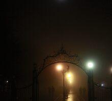 ...and the moon last night by Nikolay Semyonov
