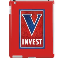 Invest In Victory -- WWII iPad Case/Skin