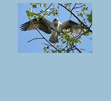 Osprey with Outstretched Wings Unisex T-Shirt
