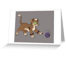 Druid Kitty 2 Greeting Card