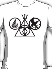 Multi Geek Symbol T-Shirt