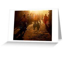 Dusty Light Greeting Card